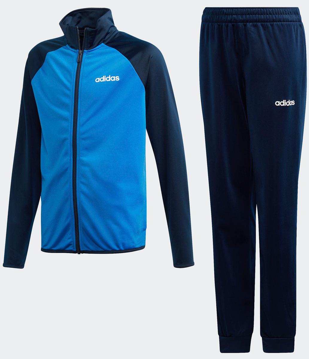 Спортивный костюм для мальчика Adidas Yb Ts Entry, цвет: темно-синий. DV1744. Размер 128DV1744
