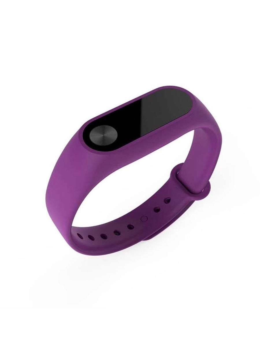 Ремешок для Xiaomi Mi Band 2. Фиолетовый фитнес трекер xiaomi mi band 2
