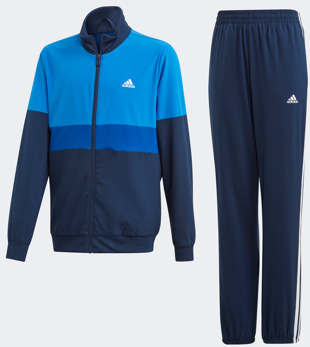Спортивный костюм для мальчика Adidas Yb Ts Wv, цвет: темно-синий. DV1737. Размер 122DV1737