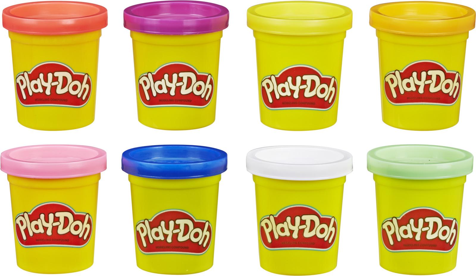 Масса для лепки Play-Doh Doh & More, E5044EU4, 8 цветов