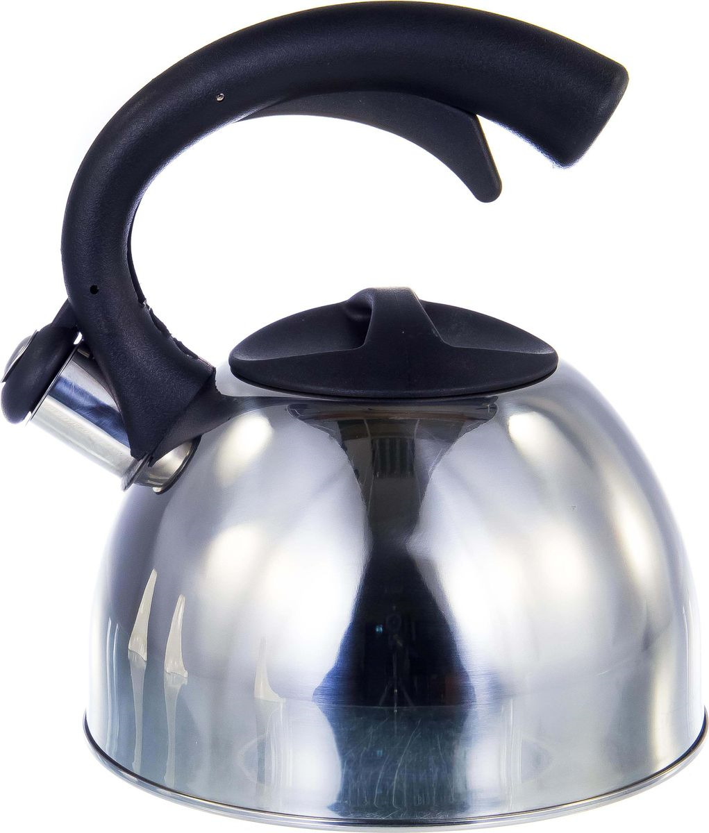 Чайник Guterwahl, 126-18001, стальной, со свистком, 2,5 л