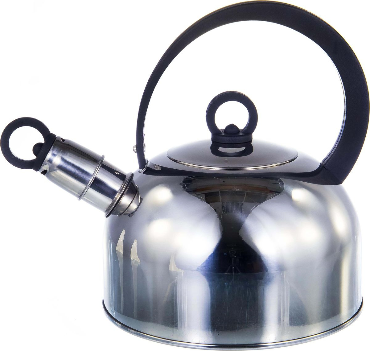 Чайник Guterwahl, 126-18006, стальной, со свистком, 2 л