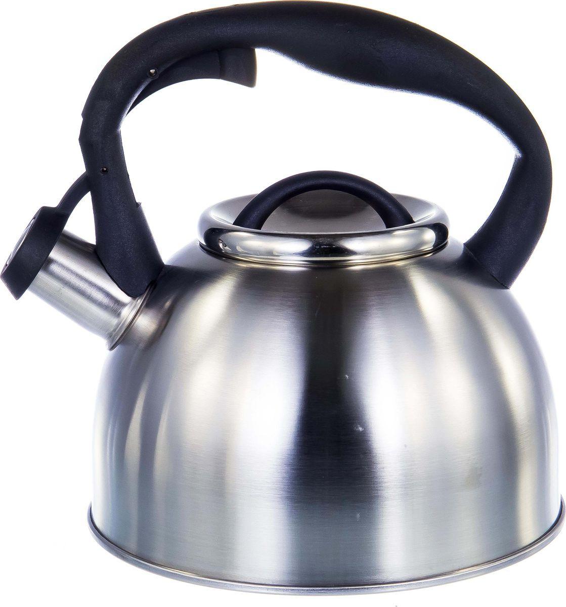 Чайник Guterwahl, 126-18008, стальной, со свистком, 2,5 л