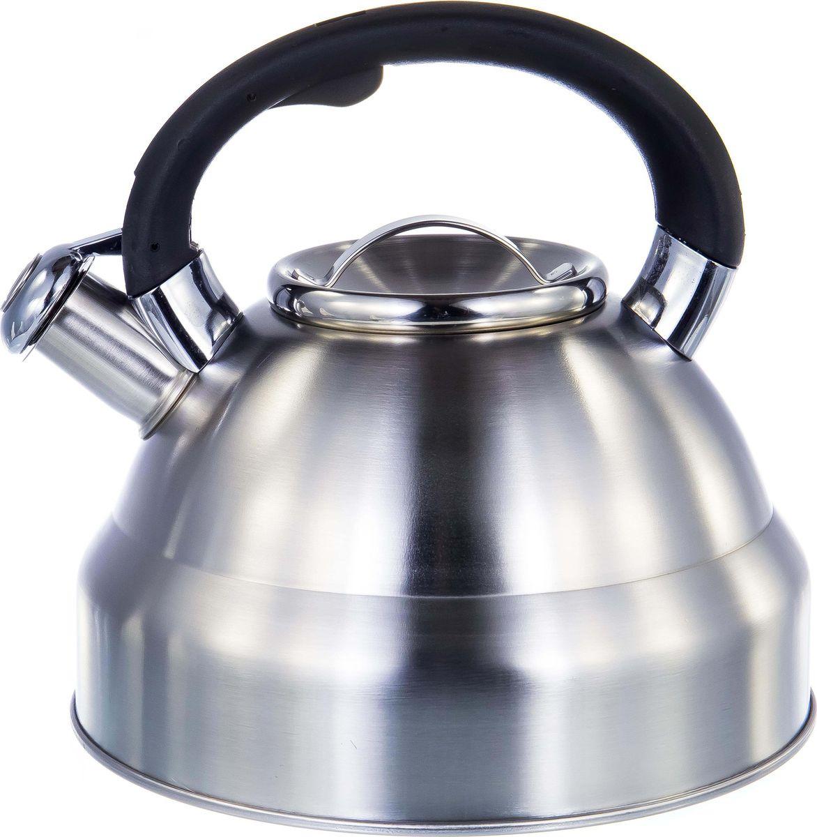 Чайник Guterwahl, 126-18011, стальной, со свистком, 3,5 л