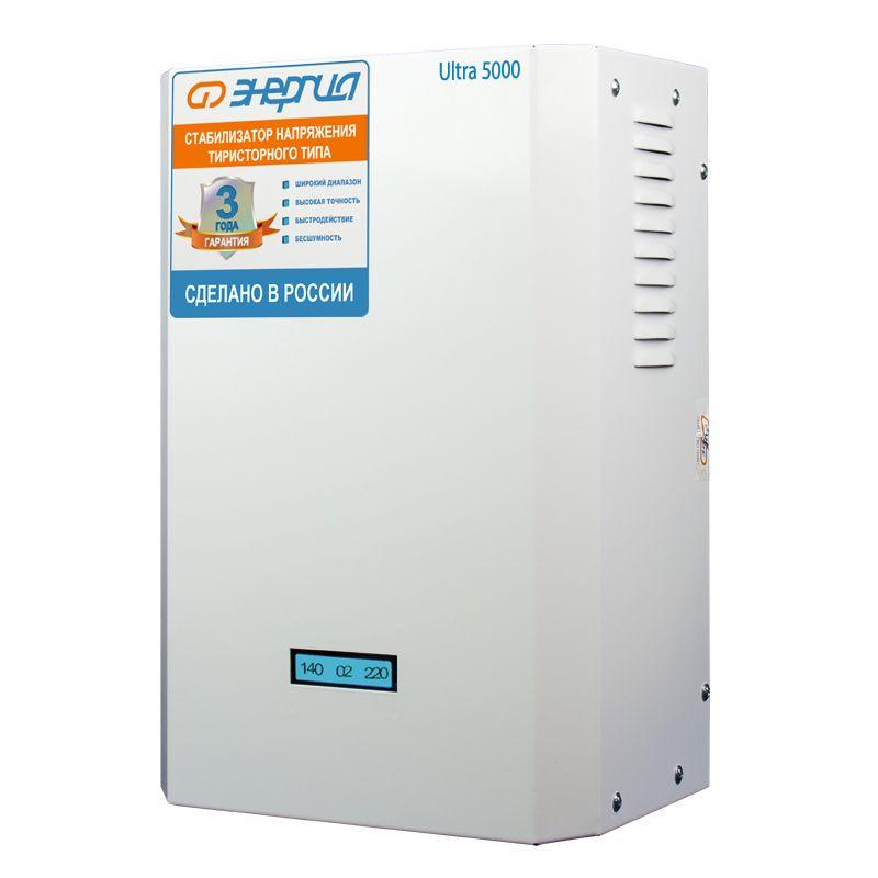 Стабилизатор напряжения Энергия Ultra 5000 Энергия