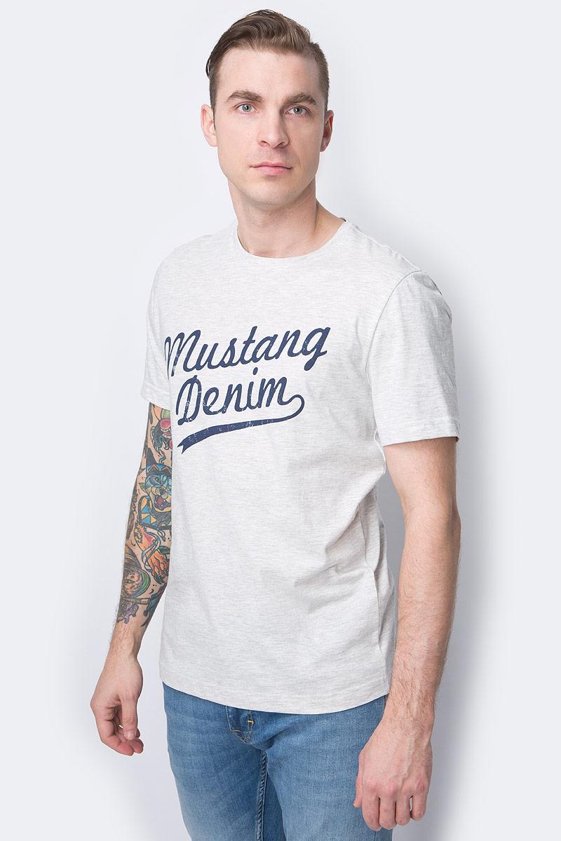 Футболка MUSTANG футболка mustang mustang mu454emabjw6