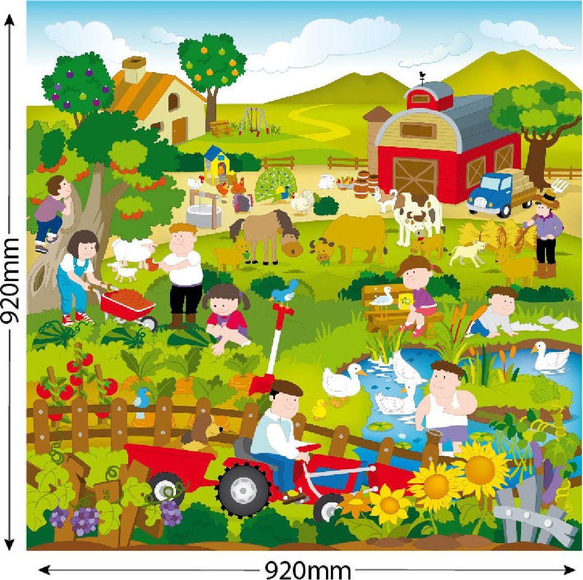 Фото - Игровой коврик ЯиГрушка Сельская жизнь, 59836 коврик в рулоне яигрушка сельская жизнь