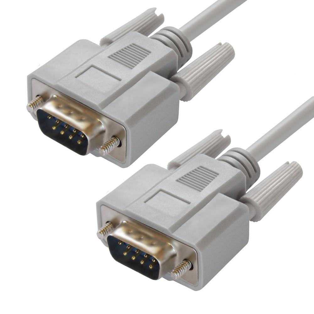 Кабель модемный Greenconnect COM порт RS232 провод DB9 9M`/9M для систем АСУ ТП модемов ресиверов для прошивки, 4.0м telescopov rs 232