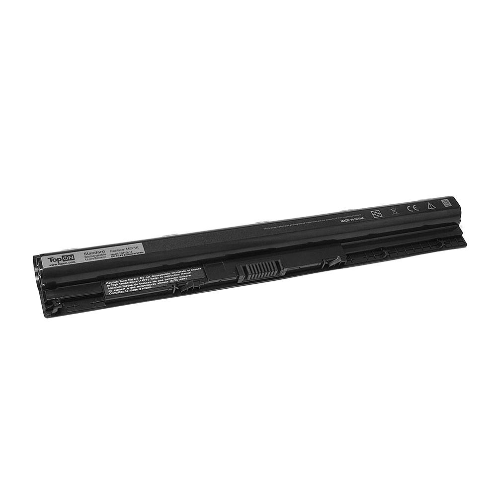 Аккумулятор для ноутбука TopON Dell Inspiron 14 5000, 15 3000, Vostro 3459. 14.8V 2200mAh 33Wh. PN: HD4J0, GXVJ3., TOP-DL15