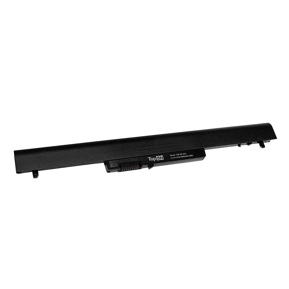 Аккумулятор для ноутбука TopON HP Pavilion SleekBook 14, 15, Chromebook 14. 14.8V 2200mAh 33Wh. PN: HSTNN-DB4D, HSTNN-YB4D., TOP-HP-S14 цена 2017