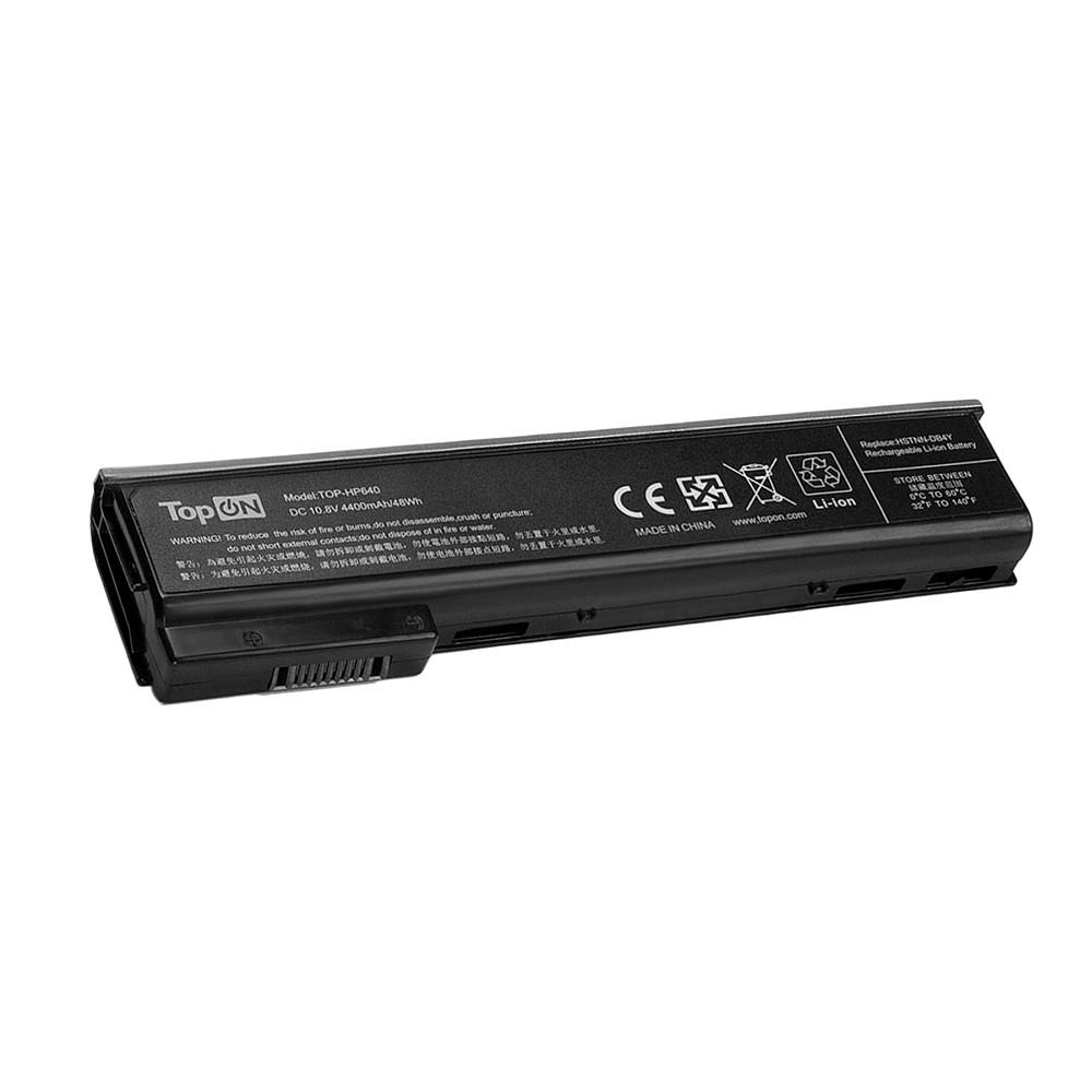 Аккумулятор для ноутбука TopON HP ProBook 640 G0, 640 G1, 645 G1, 650 G0, 655 G0, 655 G1.10.8V 4400mAh 48Wh. PN: HSTNN-DB4Y, CA06., TOP-HP640
