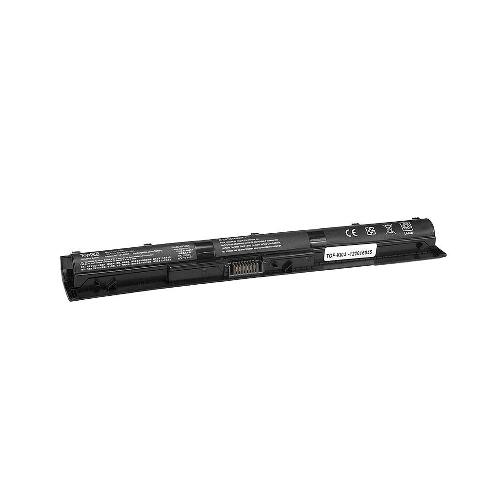 Аккумулятор для ноутбука TopON HP Pavilion 15 ab038TX, 14-ab012TX.  14. 8V 2200mAh 33Wh.  PN:  HSTNN-LB6T, KI04. , TOP-KI04 TopON
