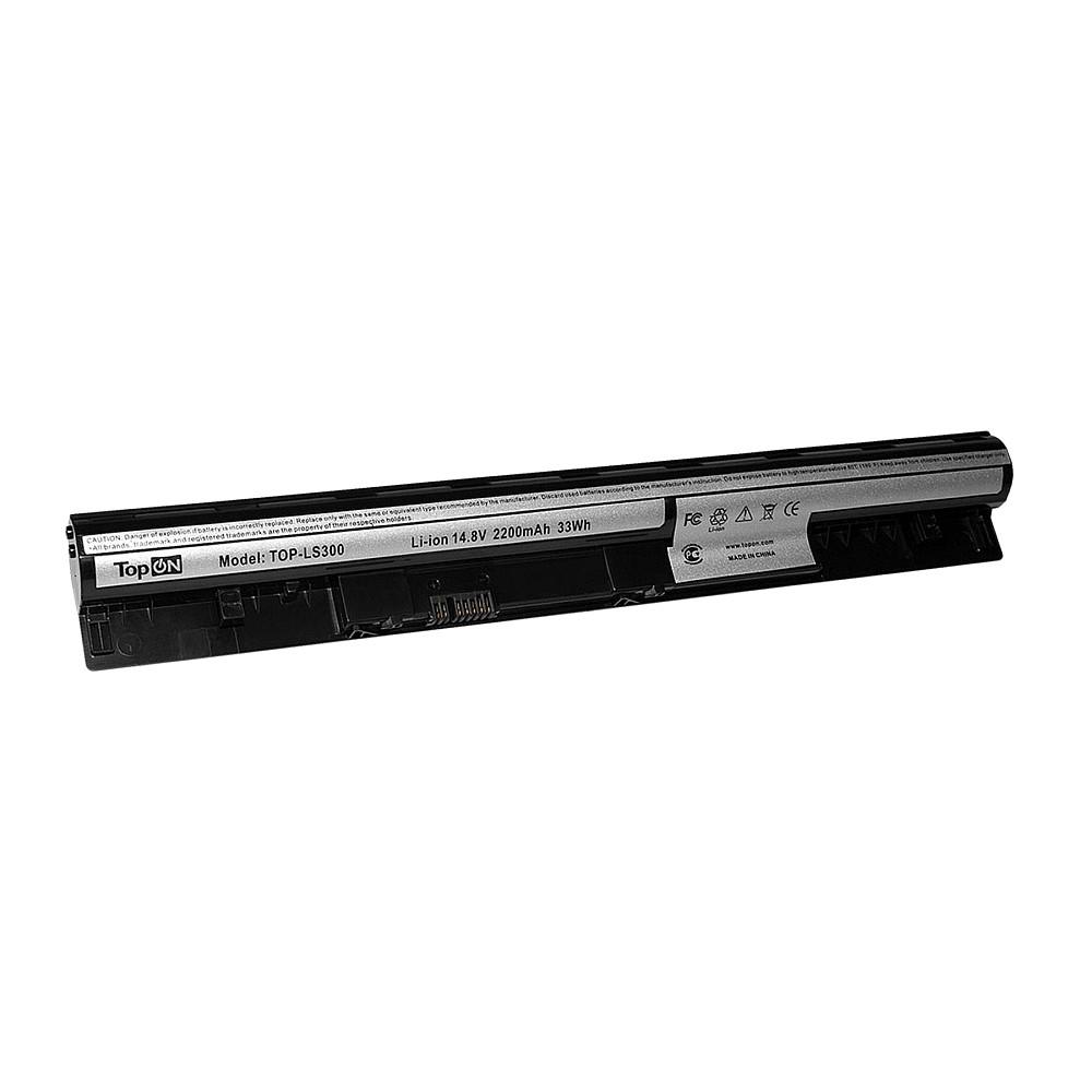 Аккумулятор для ноутбука TopON Lenovo IdeaPad S300, S310, S400, S405, S410, S415. 14.8V 2200mAh 33Wh. PN: L12S4L01, 4ICR17/65., TOP-LS300 pitatel bt 1923 аккумулятор для ноутбуков lenovo ideapad s300 s310 s400 s405 s410 s415