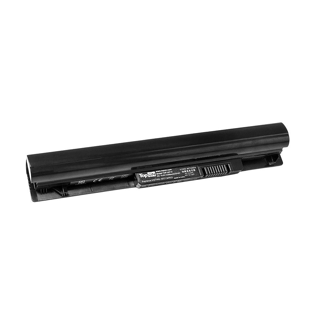 Аккумулятор для ноутбука TopON HP Pavilion 10 TouchSmart. 10.8V 2200mAh 24Wh. PN: HSTNN-OB74, MR03., TOP-MR03