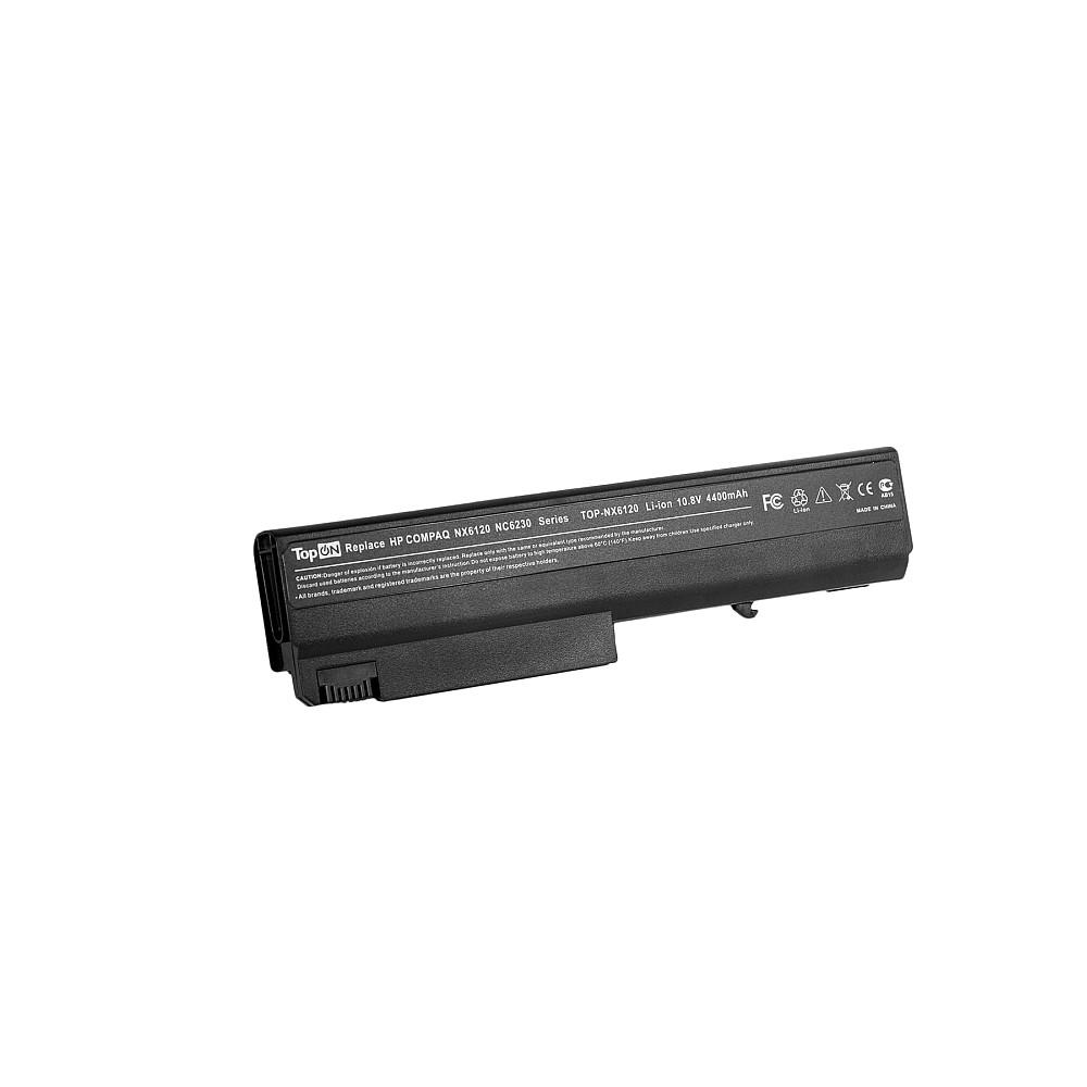 Аккумулятор для ноутбука TopON HP Compaq nc6100, nc6300, nc6400, 6910, nx6105, nx6300. 11.1V 4400mAh 49Wh. PN: PB994A, HSTNN-I05C., TOP-NX6120 цены