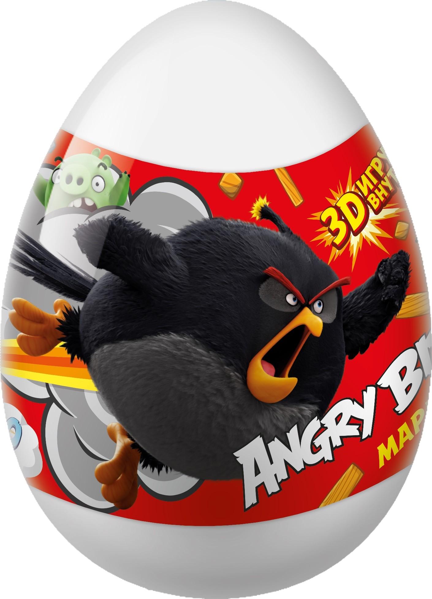 Мармелад Конфитрейд Angry Birds Movie, 10 г + игрушка игрушка мягкая angrybirds star wars 30 см 94065b 4 angry birds