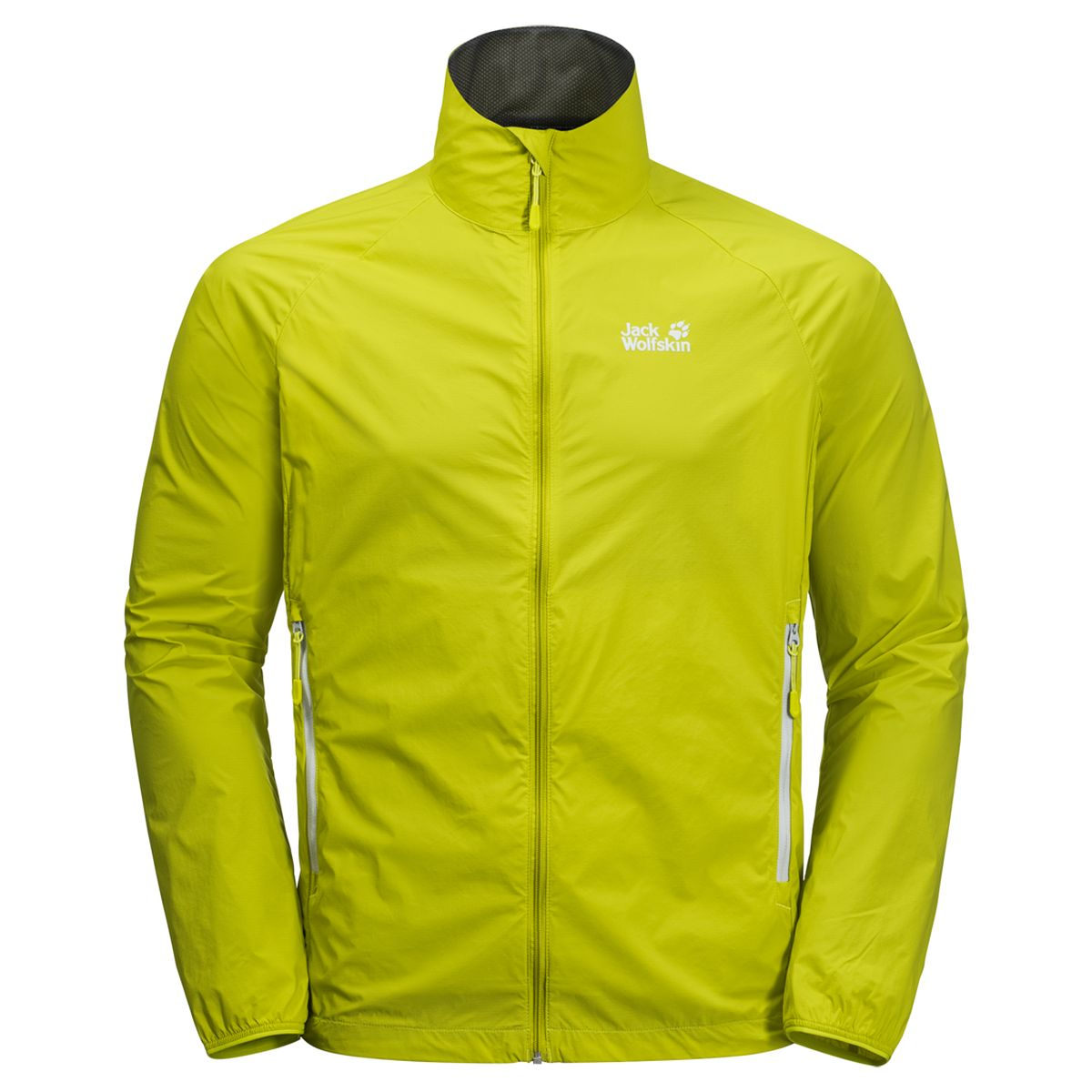 Куртка мужская Jack Wolfskin Terra Trail Jacket M, цвет: салатовый. 1305861-4038. Размер L (48/50)1305861-4038Если вам нужна невероятно легкая ветрозащитная куртка для поездок на велосипеде или запасная куртка для динамичных прогулок по склонам вашего любимого холма, обратите внимание на TERRA TRAIL (ТЕРРА ТРЭЙЛ). Эта невероятно практичная куртка просто крошечная в сложенном виде. Она аккуратно складывается в свой собственный карман, поэтому вы можете держать ее наготове в своей сумке на пояс. При разработке этой куртки мы использовали нашу ветронепроницаемую ткань STORMLOCK PAPERTOUCH (ШТОРМЛОК ПЕЙПЕРТАЧ). Ткань практически невесомая, но при этом удивительно износоустойчивая. Так что если в пути вам придется немного полазать по скалам или взбираться на склон, не стоит беспокоиться — эта куртка справится со всеми испытаниями.