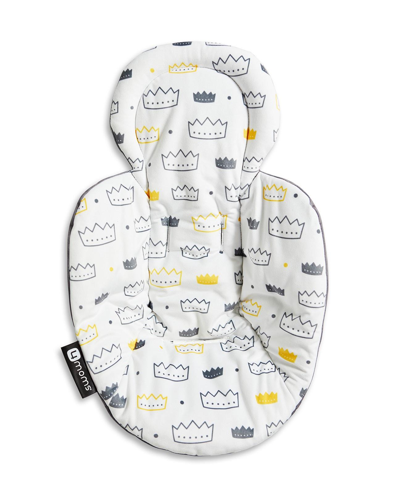 Вкладыш для шезлонга 4moms Вкладыш для новорожденного Little Royal электронный шезлонг качалка 4moms mamaroo 4 серый плюш