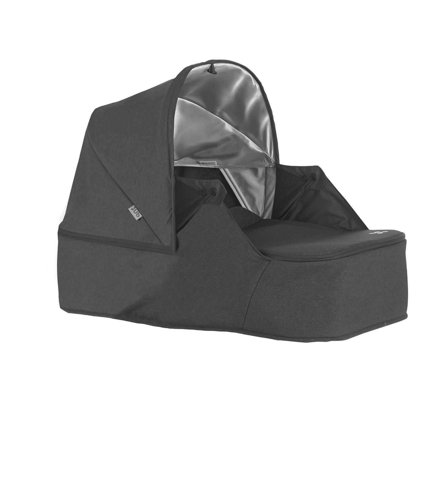 Люлька для коляски UPPAbaby Minu серый меланж