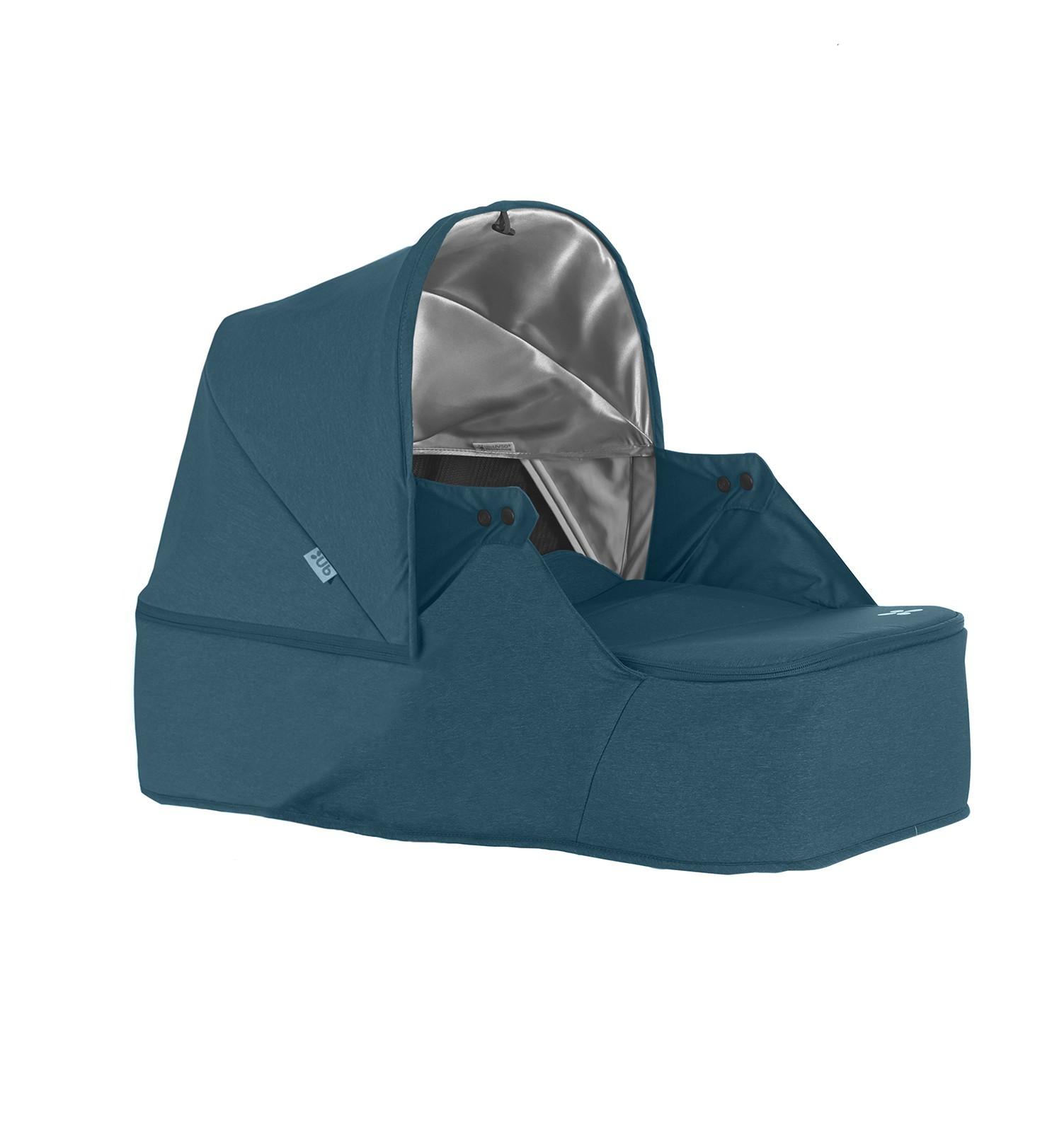 uppababy дождевик для коляски трости g luxe Аксессуар для колясок UPPAbaby Люлька для новорожденного Minu голубая