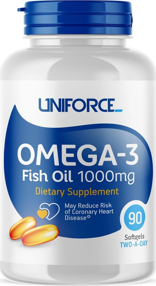Omega 3 Uniforce Omega-3 Fish Oil 1000 мг, 90 капсул produce omega 3 fatty acids enriched eggs by using fish oil