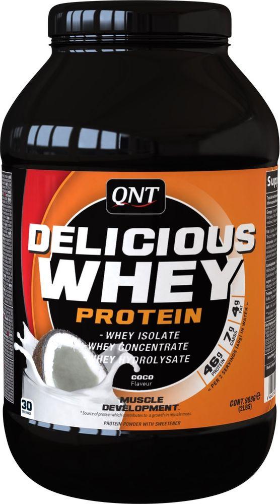 Протеин QNT Делишес Вей Протеин кокос, 908 г все цены