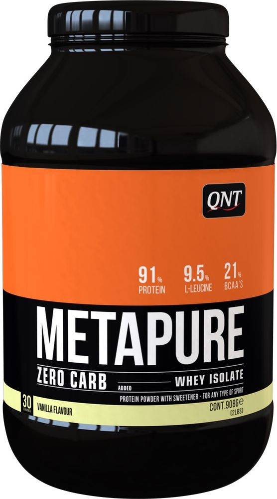 Протеин QNT Метапьюр Зеро Карб ваниль, 908 г цены