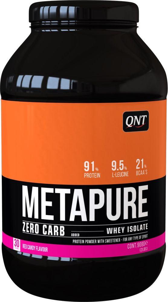 Протеин QNT Метапьюр Зеро Карб красная конфета, 908 г цены