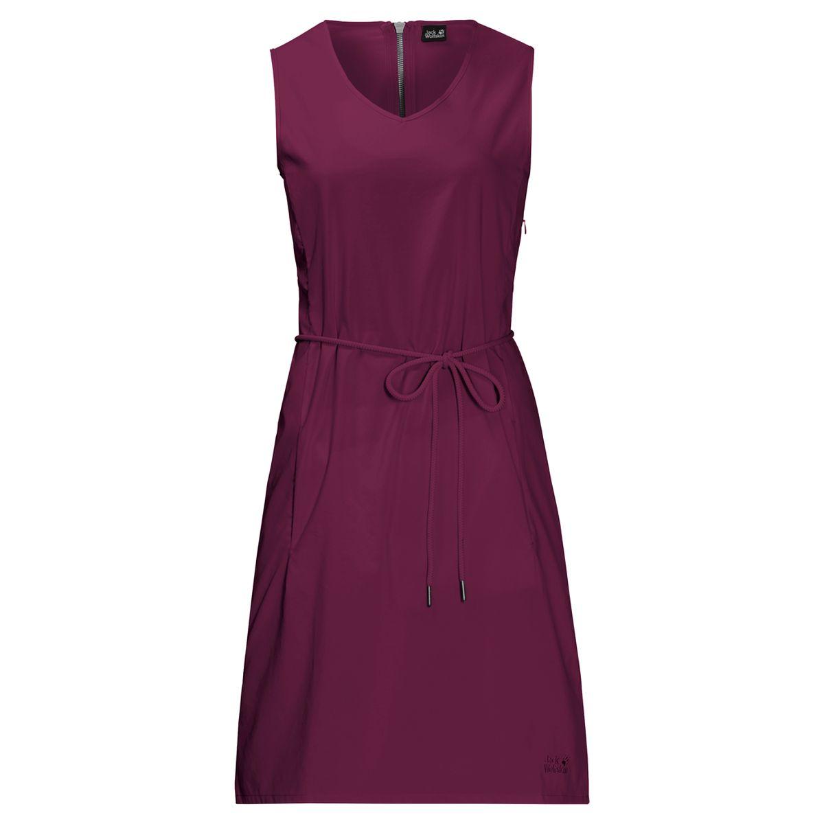 Платье Jack Wolfskin Tioga Road Dress платье jack wolfskin travel dress цвет темно синий 1504051 1910 размер s 44