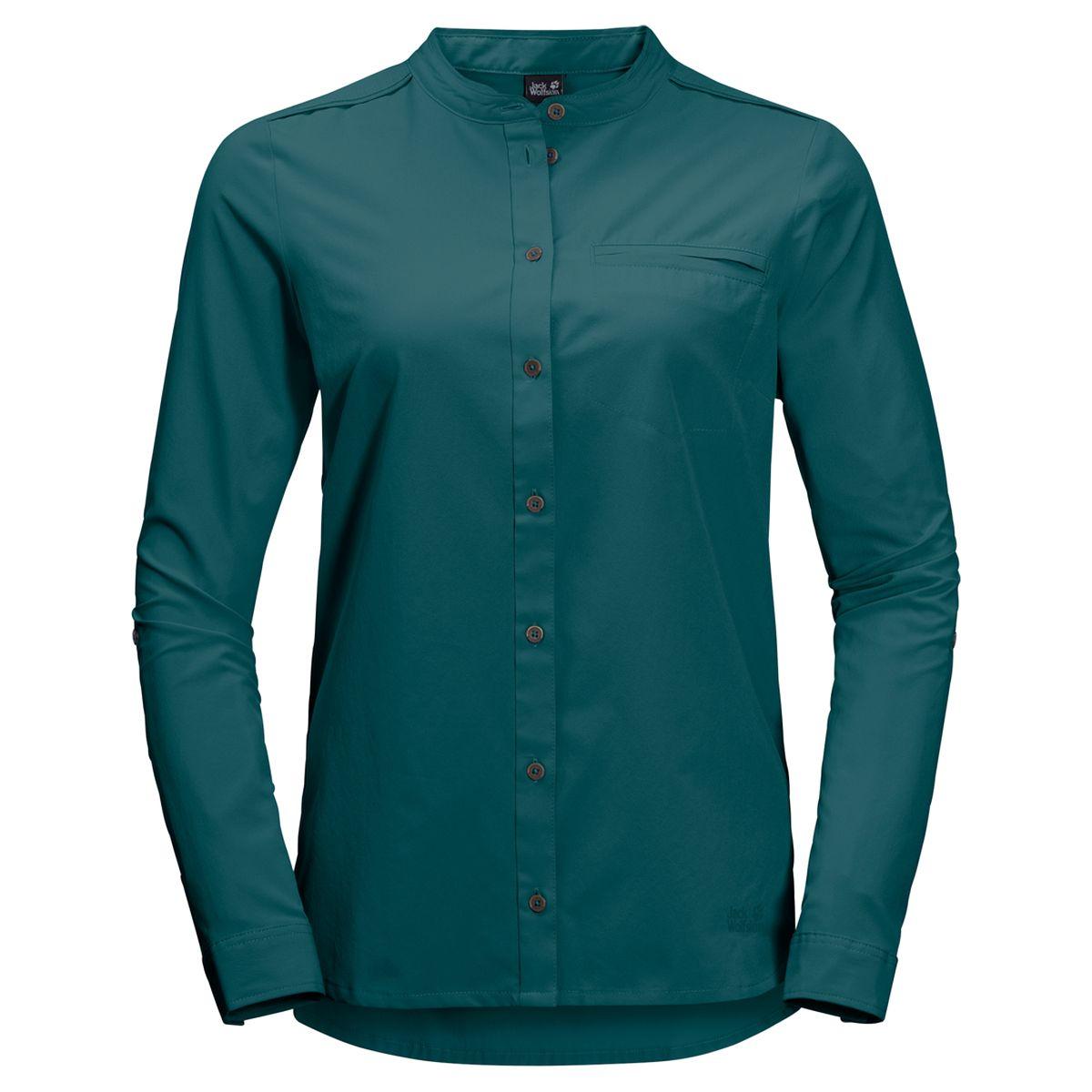 Рубашка Jack Wolfskin Victoria Roll-Up Shirt W
