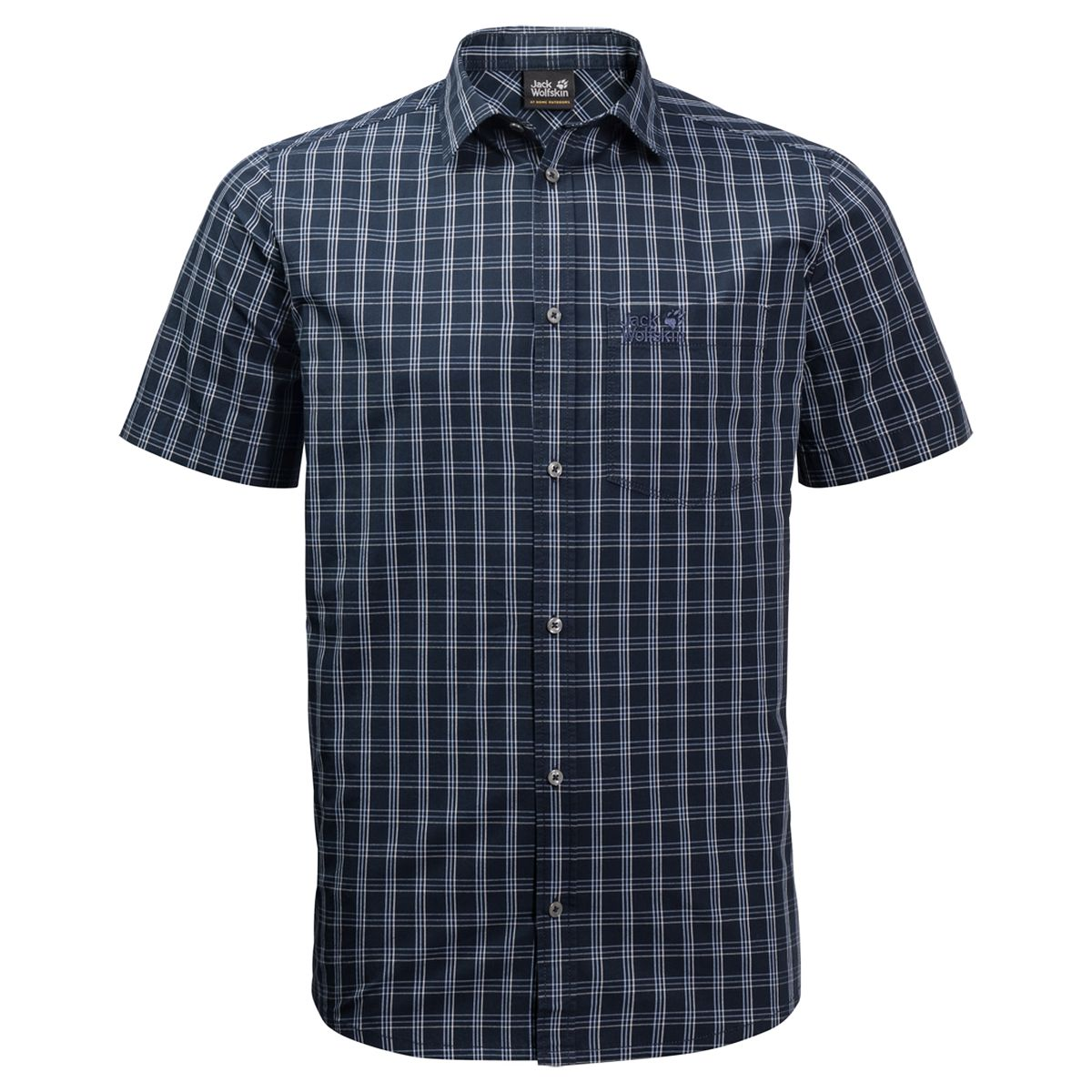 Рубашка Jack Wolfskin Hot Springs Shirt M рубашка мужская jack wolfskin hot springs shirt цвет серо голубой 1402331 7919 размер s 42