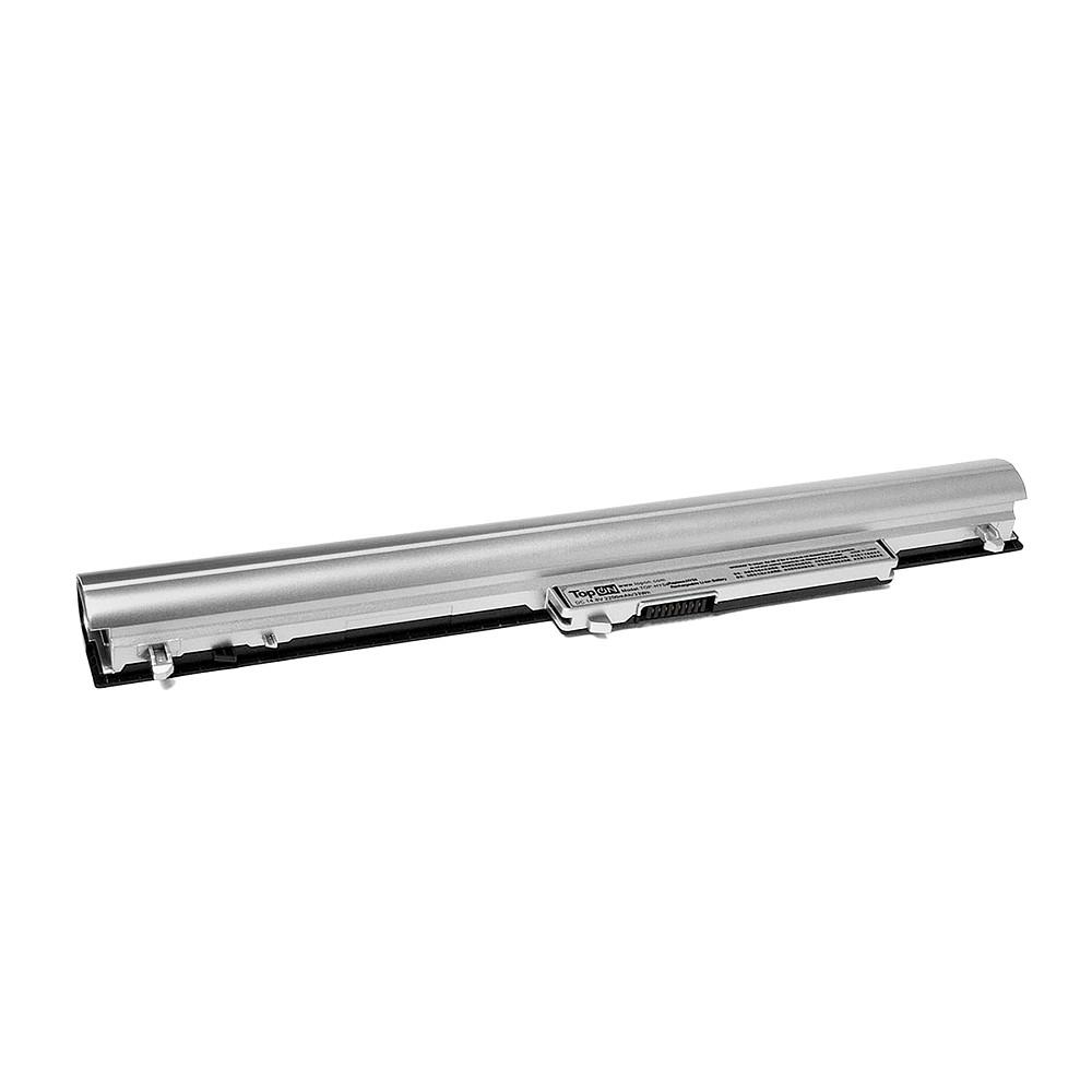 Аккумулятор для ноутбука TopON HP Pavilion TouchSmart SleekBook 14. 14.8V 2200mAh 33Wh. PN: HPHY04L7, HY04. Серебристый., TOP-HY04, серебристый