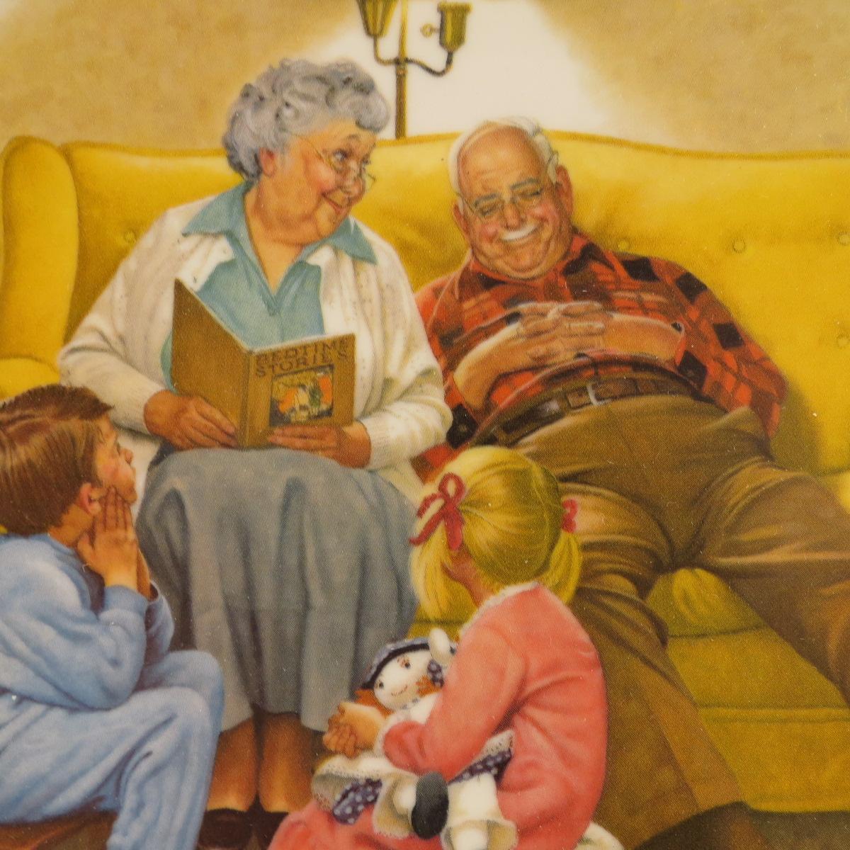 Картинки о бабушках и дедушках, смешные открытки