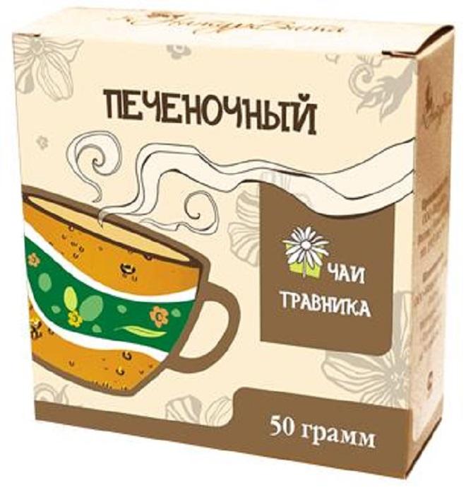 Чай листовой НатурВита Печеночный, Цветы бессмертника, Зверобой, Пижма, Шиповник, Трава хвоща лекарство желчегонное