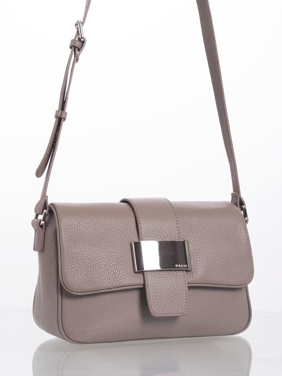 купить Сумка женская Palio, 13965A6 228 CFGAQ, серо-коричневый по цене 8106 рублей