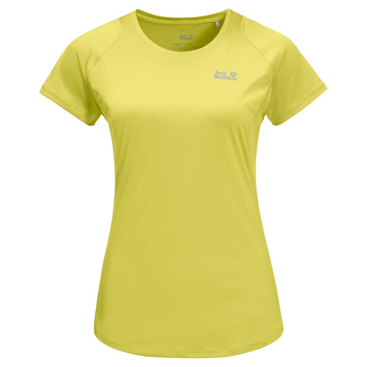 Футболка Jack Wolfskin1806481-3075Бег, интенсивный хайкинг, тренировки на свежем воздухе, спиннинг — вы любите по-настоящему испытывать себя и свои возможности. SIERRA T (СЬЕРРА Ти) поможет вам в этом. Эта футболка спортивного покроя в стиле кэжуал сшита из эластичной ткани. Ткань эффективно впитывает влагу, отводит ее наружу и быстро высыхает. Ткань HYDROPORE (ХАЙДРОПОР) может похвастаться дополнительными свойствами, которые поддержат ваши достижения во время занятий с интенсивной нагрузкой. Она невероятно эластичная, а ее специальная обработка;позволяет минимизировать неприятные запахи.