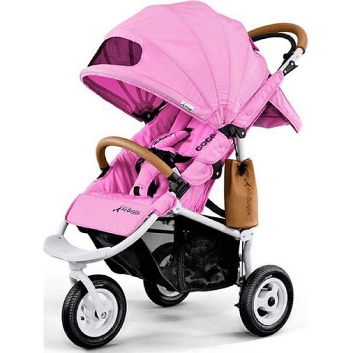 Коляска прогулочная Airbuggy Coco Brake Cool Pink