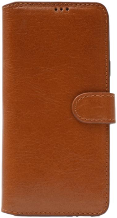 Чехол портмоне для Samsung Galaxy S9 Plus коричневый