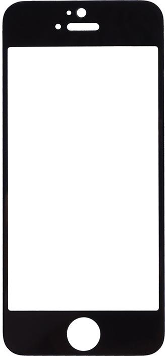 Защитное стекло полноклеевое FULL SCREEN для Apple iPhone 5 / 5c / 5s / SE черное защитное стекло полноклеевое full screen для apple iphone 5 5c 5s se белое