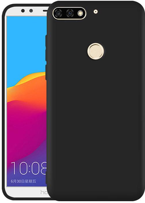 Чехол для сотового телефона GOSSO CASES для Huawei Honor 7C / Honor 7A Pro TPU, 184136, черный