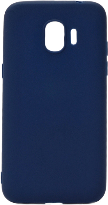 Чехол для сотового телефона GOSSO CASES для Samsung Galaxy J2 (2018) Soft Touch, 186944, темно-синий