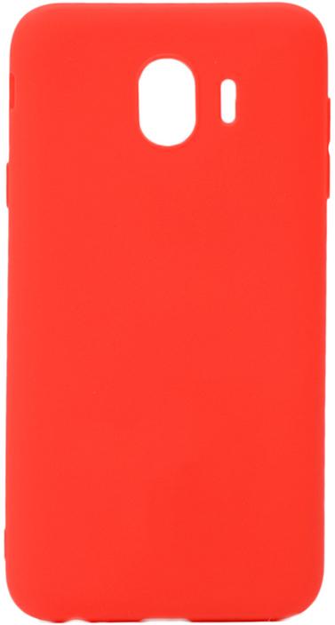 Чехол для сотового телефона GOSSO CASES для Samsung Galaxy J4 (2018) Soft Touch, 186947, красный