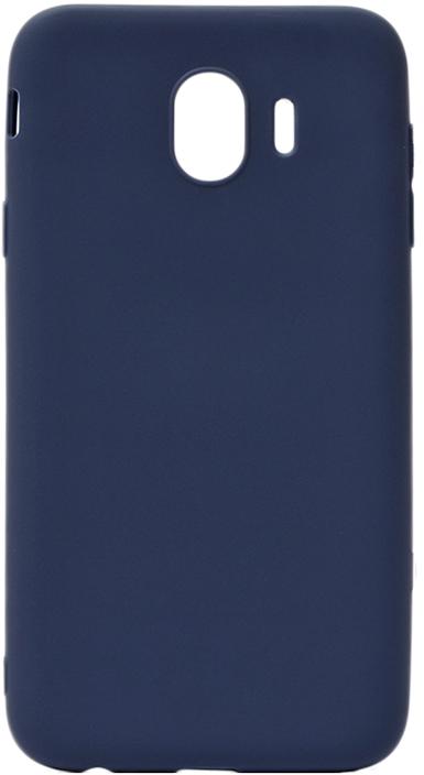 Чехол для сотового телефона GOSSO CASES для Samsung Galaxy J4 (2018) Soft Touch, 186948, темно-синий