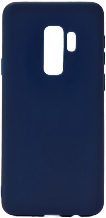 Чехол для сотового телефона GOSSO CASES для Samsung Galaxy S9 Plus Soft Touch, 186956, темно-синий
