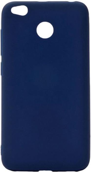 Чехол для сотового телефона GOSSO CASES для Xiaomi Redmi 4X Soft Touch, 187874, темно-синий