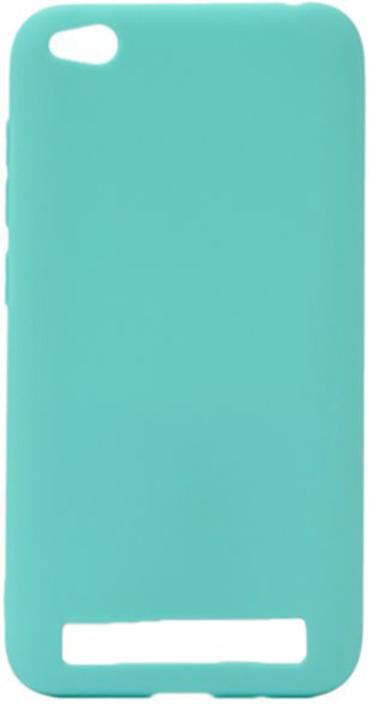 Чехол для сотового телефона GOSSO CASES для Xiaomi Redmi 5A бирюзовый Soft Touch, 189927, бирюзовый