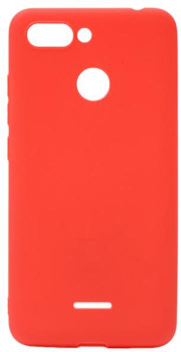 Чехол для сотового телефона GOSSO CASES для Xiaomi Redmi 6 Soft Touch, 189930, красный