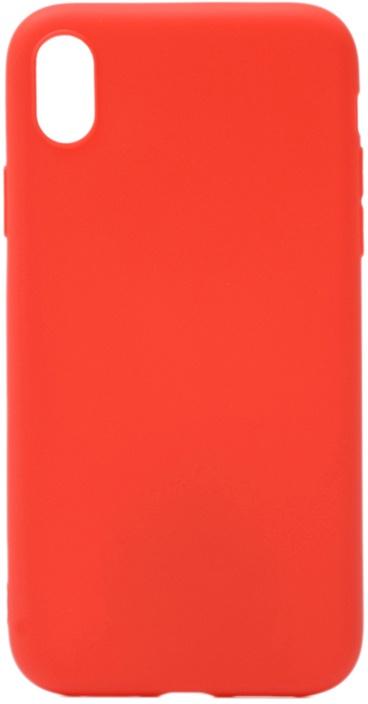Чехол для сотового телефона GOSSO CASES для Apple iPhone XR Soft Touch, 191694, красный