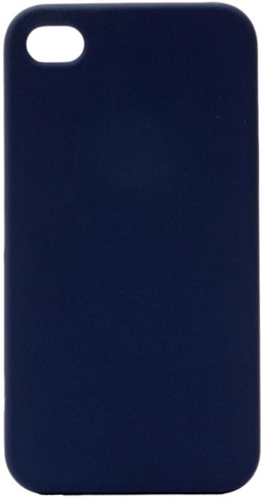 Чехол для сотового телефона GOSSO CASES для Apple iPhone 4S Soft Touch, 196056, темно-синий