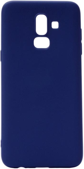 Чехол для сотового телефона GOSSO CASES для Samsung Galaxy J8 2018 (J810F) Soft Touch, 196084, темно-синий